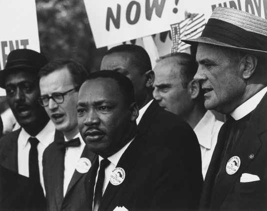 Civil_Rights_March_on_Washington,_D.C._(Dr._Martin_Luther_King,_Jr._and_Mathew_Ahmann_in_a_crowd.)_-_NARA_-_542015_-_Restoration